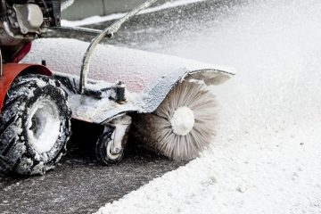 Snø og is fjerning